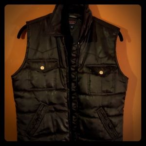 Tommy Hilfiger quilted zip up vest